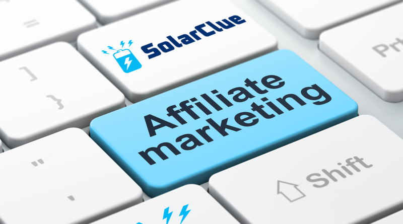 affiliate on SolarClue