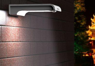 Solar Motion Sensor Security Light with Siren