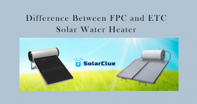 What is the difference between FPC and ETC solar water heaters