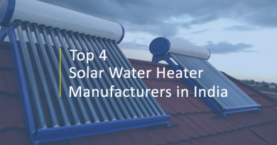 Top 4 Solar Water Heater Manufacturers in India