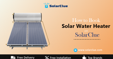 How to book solar water heater on solarclue