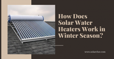 How Does Solar Water Heaters Work in Winter Season