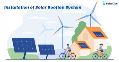 Installation of Solar Rooftop System
