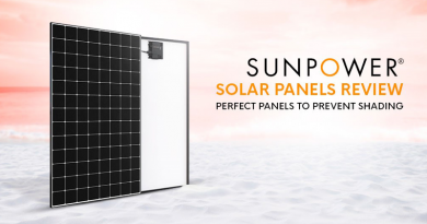 SunPower Solar Panel and its Efficiency to Prevent Shading