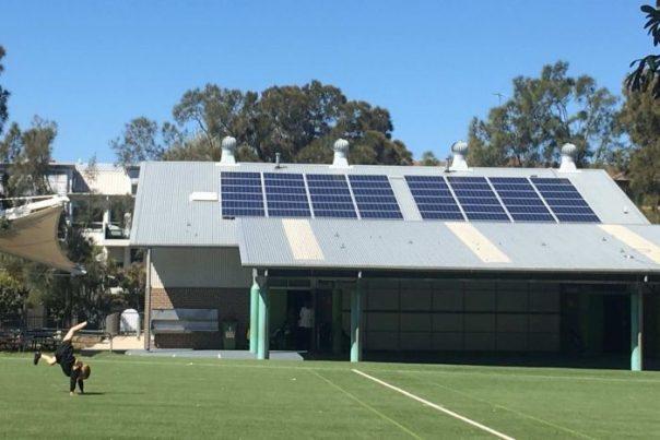 rooftop solar panel for schools